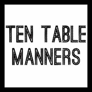 TenTableManners