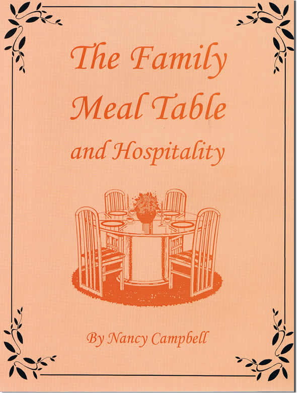 The Family Meal Table And Hospitality
